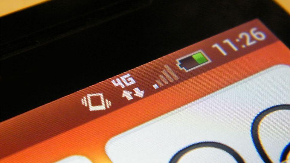 4G-mobiltelefon mobilinternet